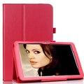 Soporte folio smart tablet funda protectora para 2014 pulgadas tablet cubierta de la caja + de pantalla lg v700 10.1 stylus