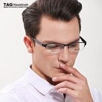 2019 new titanium glasses frame men TAG Brand Fashion ultra light carbon fiber eyeglasses frames women College optical shelves