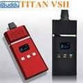 Cigarro eletrônico erva seca vaporizador caneta atomizador e cigarro kits vape herbal vaporizador titan vs2 vaporizador cera erva x8253