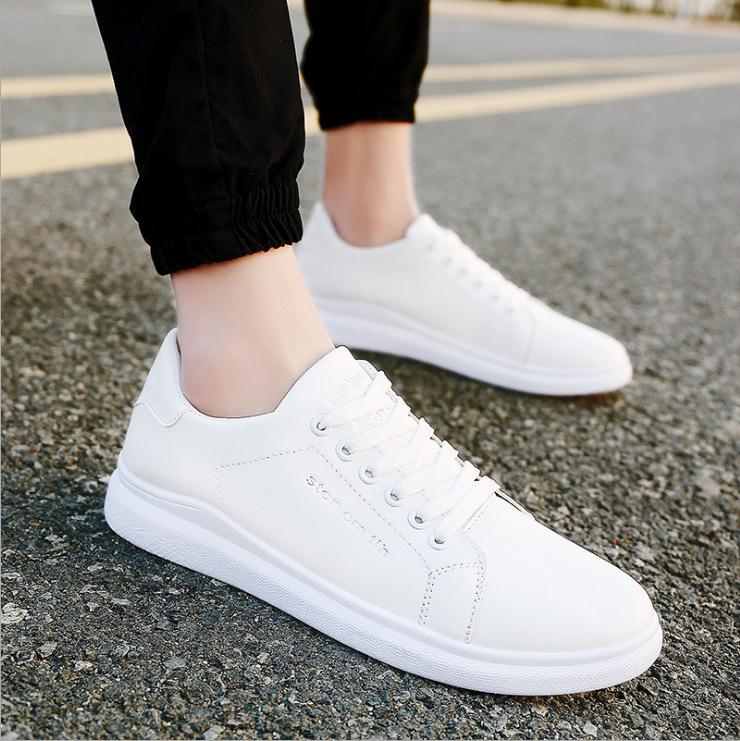 Sneakers Cuir Marque Appartements Color En Up Synthétique Noir Blanc Tenis picture Casual Chaussures Mâle Hommes 2018 Masculino Lace Loisirs Picture Color Couleur Adulto vnmN8wO0