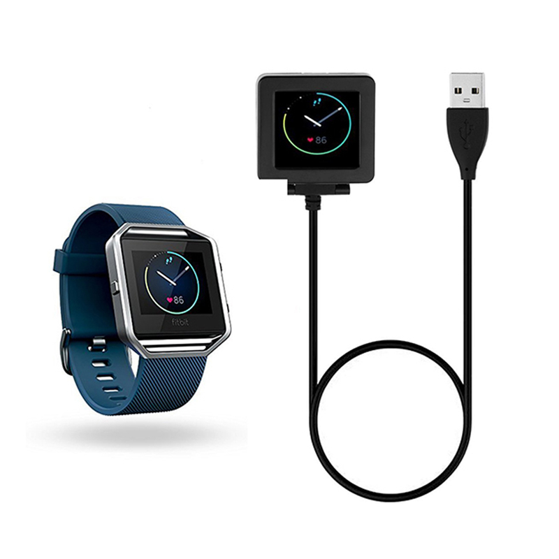 Chargers Trend Mark Hottest Usb Charging Cable Replacement Charger For Smart Fitness Watch Fitbit Blaze