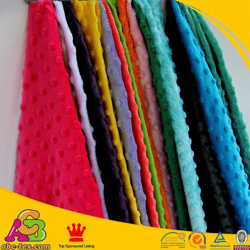 Stoff Färben freies verschiffen minky dot stoff 31 farben auf lager