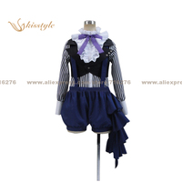 Kisstyle Fashion Black Butler Circus Ciel Phantomhive Uniform COS Clothing Cosplay Costume,Customized Accepted