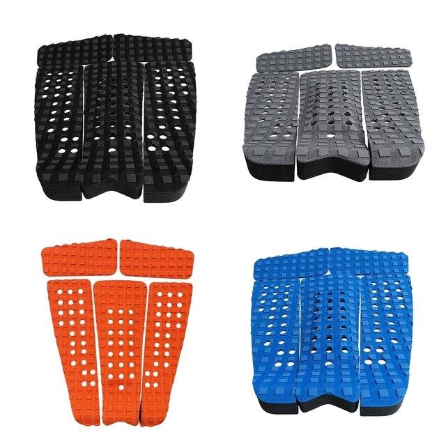 Perfeclan 5 قطعة مربع مخدد إيفا لوح التزلج لوح التزلج Longboard سوب الجر سطح قبضة الذيل الوسادة قلصا ورقة الملحقات