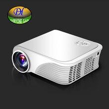 Todos Ganan 1800lms Proyector Led Proyector de Cine En Casa Digital de 720 p apoyo 1080 p Tv Beamer Hdmi/Vga/Usb/Av Dtv Mini280