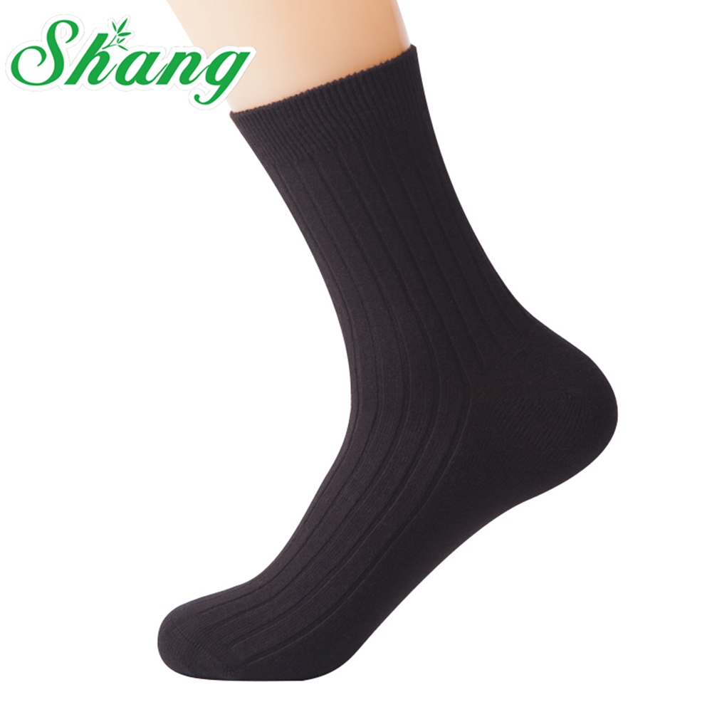 BAMBOO WATER SHANG Mænds tykke sokker Høj kvalitet MENN 98% ren - Undertøj