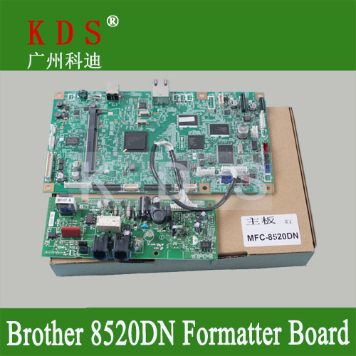 Original formatter board for Brother MFC-8520DN usb control board for LT17920012