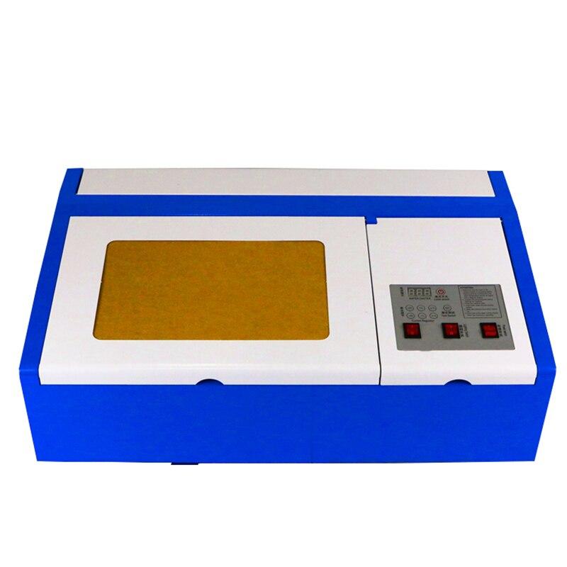 Laser gravure zone 300*200mm 110/220 v machine de découpe laser 50 w laser machine de gravure