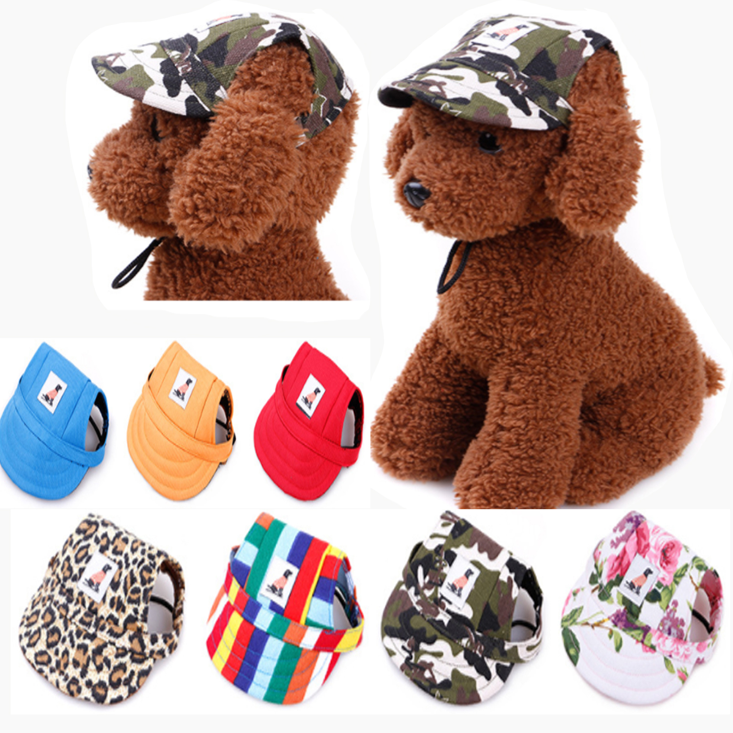 2019 Hot Sale Sun Hat For Dogs Cute Pet Casual Cotton Baseball Cap  Products