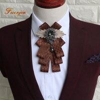 Fuerjia gravata borboleta, originais feitas à mão xadrez, o melhor homem do noivo, high-end gravata borboleta, vestido de casamento por atacado