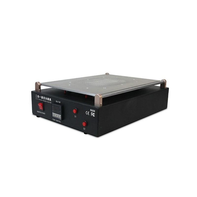 Excellente qualité LY 968D LCD Machine de séparation d'écran avec pompe à vide intégrée pour iPad iPhone et Table PC réparation