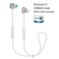 PIZEN Metal Bluetooth earphone with Mic CSR8645 APTX AAC Waterproof HIFI Earphone wireless Sport Earbud for Running and Exercise