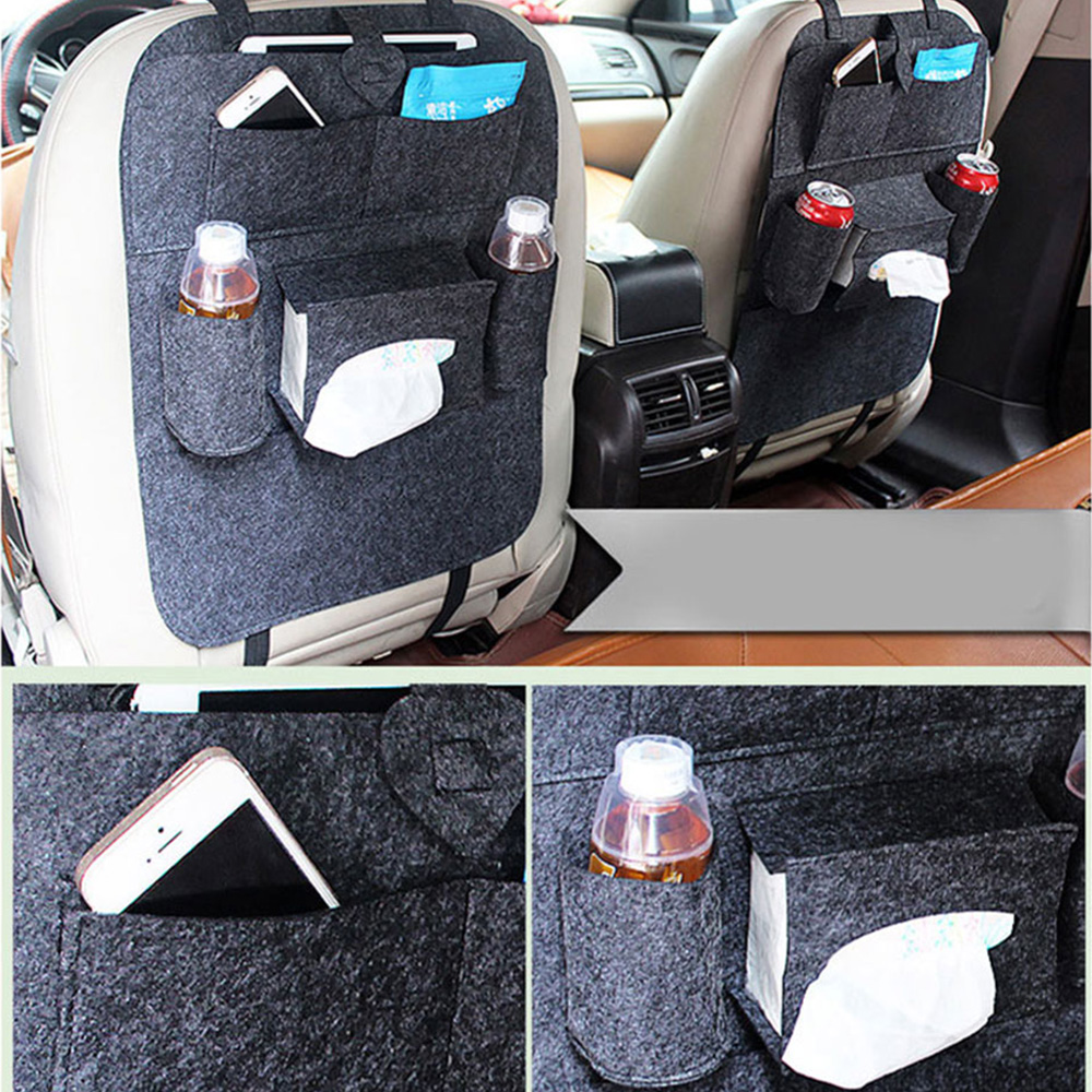 Baby Care Car Seats Back Pockets Organizer Car Seat Bag Automobile Accessories Car Styling Hanging Bags Baby Shopping Cart Cover
