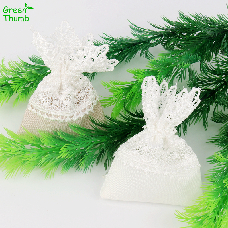 5pcs 11*8cm Lace Cloth Bag Girl Heart Jewelry Gift Bag for Home Holiday Party DIY Decoration5pcs 11*8cm Lace Cloth Bag Girl Heart Jewelry Gift Bag for Home Holiday Party DIY Decoration