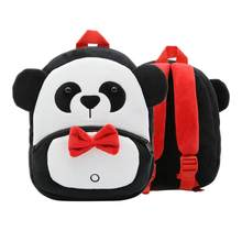 Toddler Kids Backpack Plush Cartoon Satchel Bag Light Children Shoulder Bag Plush Backpacks Stuffed Animals & Plush Toys (Panda)(China)