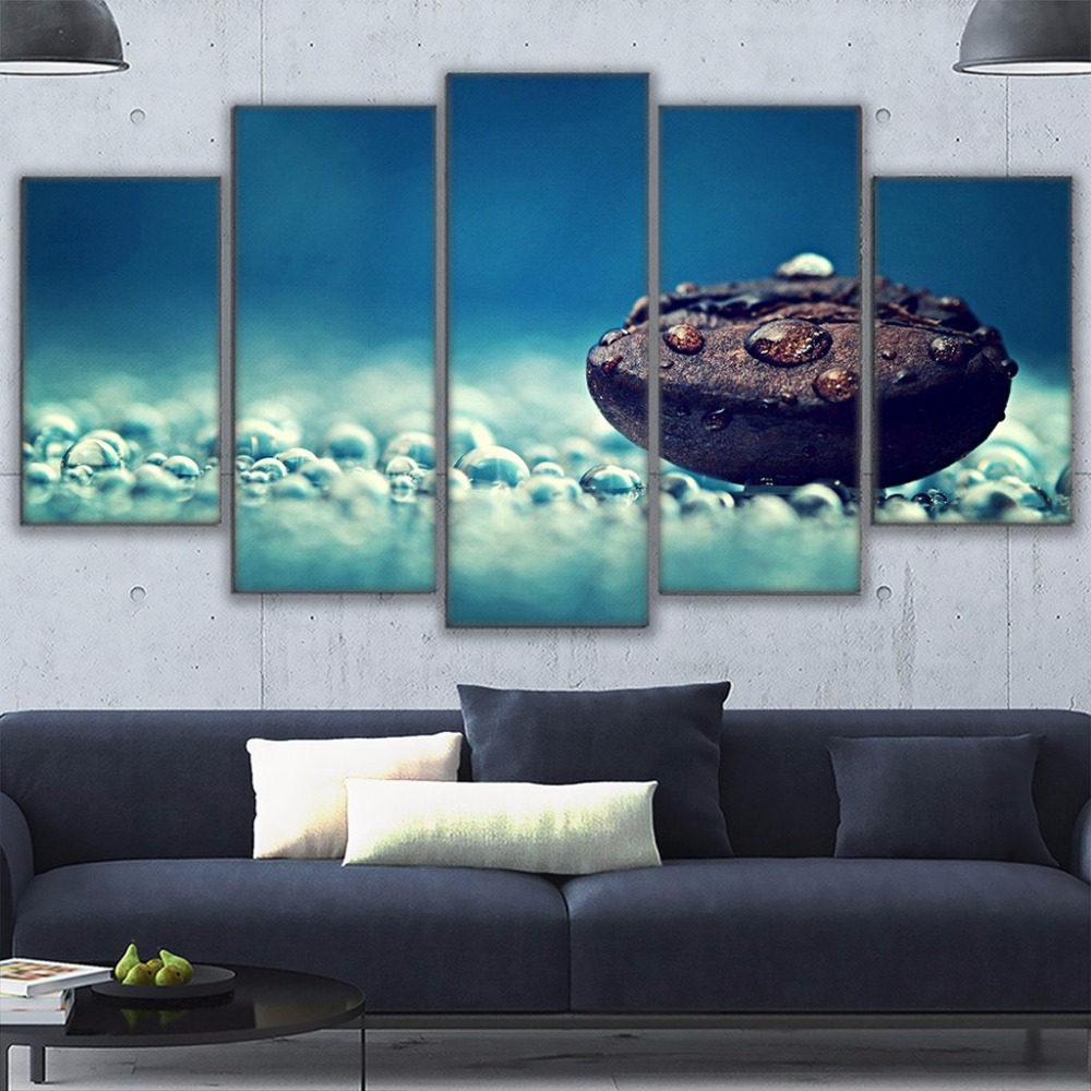 Wall Art Canvas Hd Prints Landscape Painting Frame Modular Poster 5