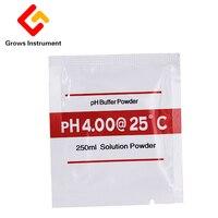 100PCS PH Buffer Powder for aquarium PH meter PH Test Meter Measure Calibration Solution 4.01/6.86