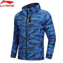 Клиренс) Li-Ning Мужская баскетбольная ветровка BAD FIVE полиэстер Обычная посадка подкладка 3D фитинг спортивное пальто AFDN151 MWF363