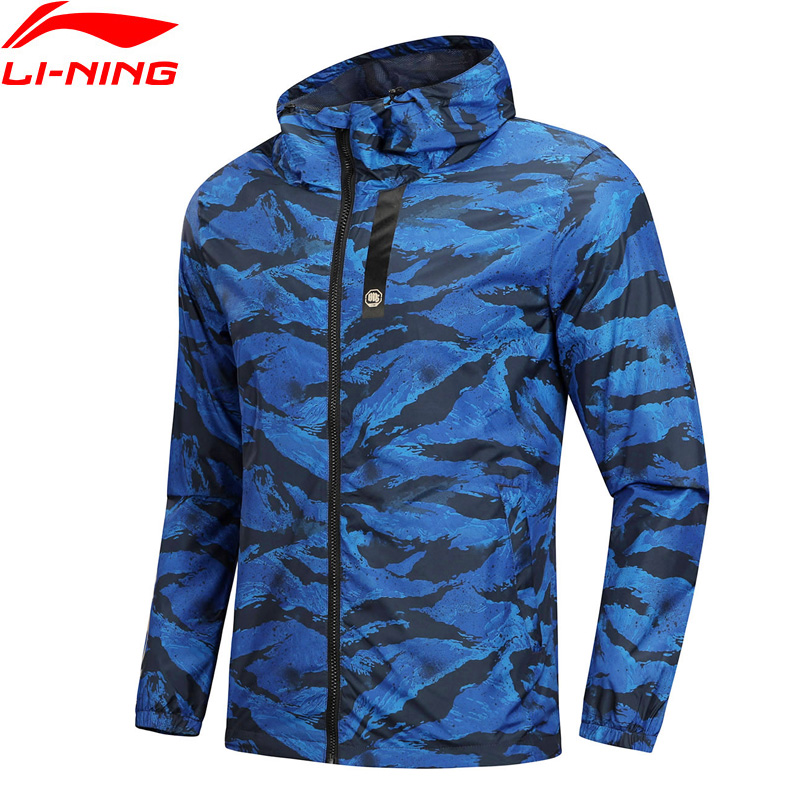 (Break Code)Li-Ning Men BAD FIVE Basketball Windbreaker 100% Polyester Regular Fit LiNing Li Ning 3D Fitting Coat AFDN151 MWF363