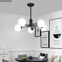 Vintage Chandelier lighttingLoft Lustre DIY E27 hanglamp Livingroom Lighting Kitchen Restaurant Chandelier Fixture Lights LED