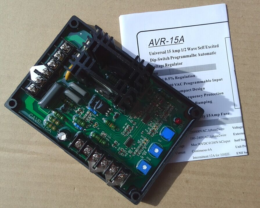 GAVR-15A AVR Automatic Voltage Regulator for Generator AVR 15A