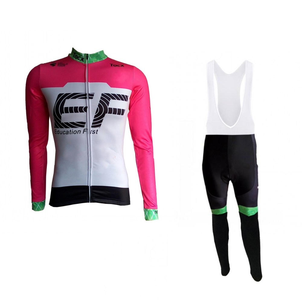 2018 uci team winter fleece pro cycling jersey kits Bicycle maillot warmer MTB bike clothing Ropa ciclismo gel pad