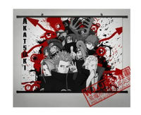 Naruto Akatsuki Orochimaru uchiha Home Decor Japan Poster Wall Scroll Deidara