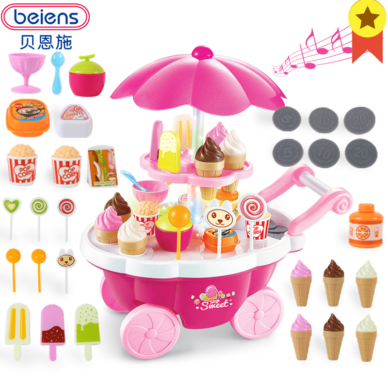 Beiens Bambini Cucina Cucina Giocattolo Set Giochi di imitazione di ...