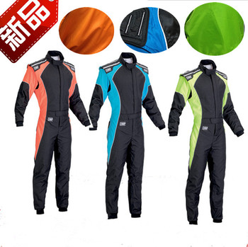 Car racing suit practice suit men and women kart drift Racing suit auto repair BEAuty Overalls Spot
