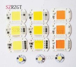 Led cob chip 110 v 220 v 9 w 10 20 30 50 lâmpada led entrada inteligente ic luz de inundação holofotes