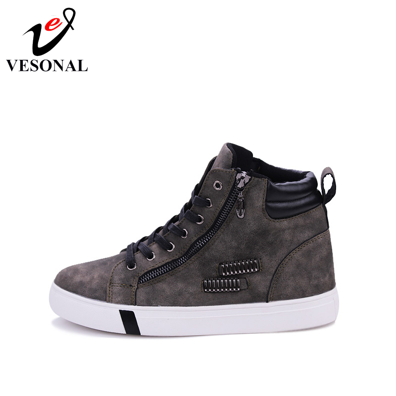 grigi Fashion Scarpe New Caviglia Stivali Patchwork Uomo Up Stivali marroni Walk Casual Winter Lace 8995 Vesonal 2018 Stivali Casual Stivali neri qtxnf5R