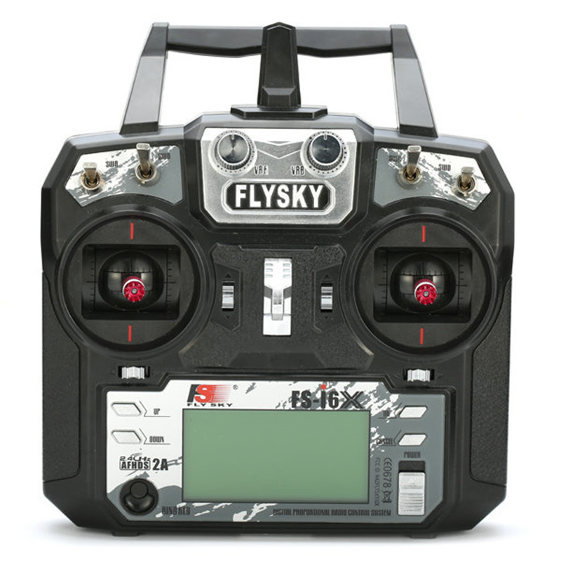 Flysky FS-i6X 2.4GHz 10CH AFHDS 2A RC Transmitter With X6B iA6b i-BUS Receiver For Rc Airplane