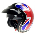 (1pc&6colors) Newest Open Face Motorcycle Helmet With Sun Viosr Motocicleta Cacapete Casco Casque Harley Retro Helmets