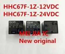 Novo original HHC67F 1Z 12VDC HHC67F 1Z 24VDC t91 1z dc24v frete grátis