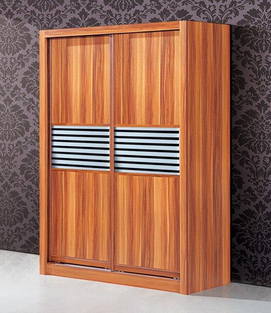 2015 mejor venta de madera armario puerta corredera armario ...