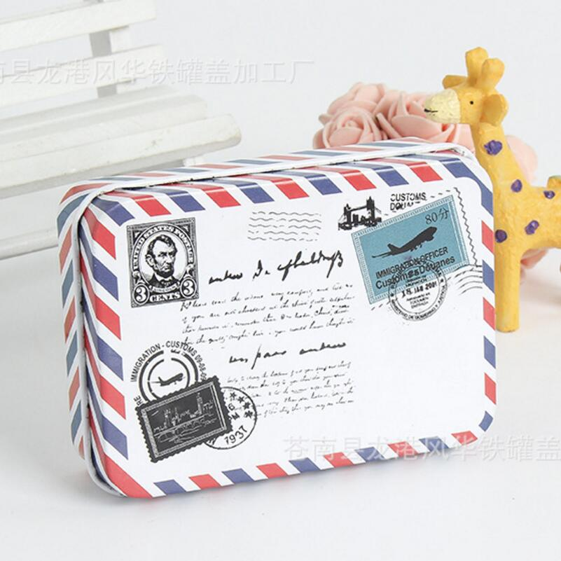 Mini Metal Tin Box Container Christmas Gift Candy Boxes