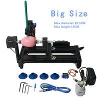 Разбирается LY большой размер eggdraw eggbot яйцо Рисование робот плоттер на яйцо и мяч для образования детей 220 В 110 В