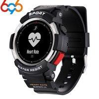 696 Bluetooth F6 Smartwatch IP68 Waterproof Heart Rate Monitor Fitness Tracker Smart watch with Multi Sport Mode PK GV68 EX18
