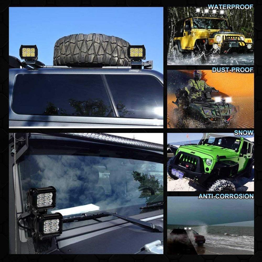 Wholesale LED Work Light Bar Spot Offroad ATV Fog Truck Beam Driving Lamp