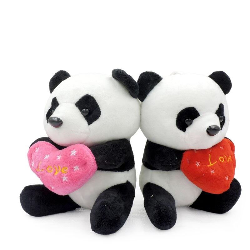 Anxiety Stuffed Animal, 1 Piece 18cm Sit Small Cute Panda Bear Stuffed Plush Toys Soft Animals Panda Holding Love Doll Kids Toy Girls Children Gifts Cute Panda Bears Soft Animalstoy Soft Aliexpress
