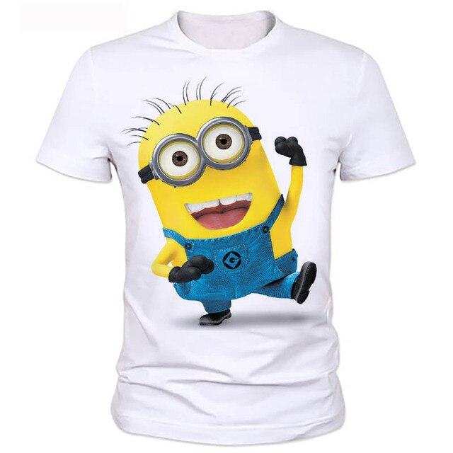 78f71564159c Sommer kleidung männer t-shirt despicable minions t-shirt 3d print cartoon  charakter t