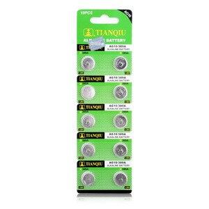 Image 4 - Ycdc Dropshipping 20Pcs AG10 Cell Coin Batterij LR1130 V10GA Horloge Button Coin 189 389 390 LR54 Batterijen + Hot selling + 50% Korting