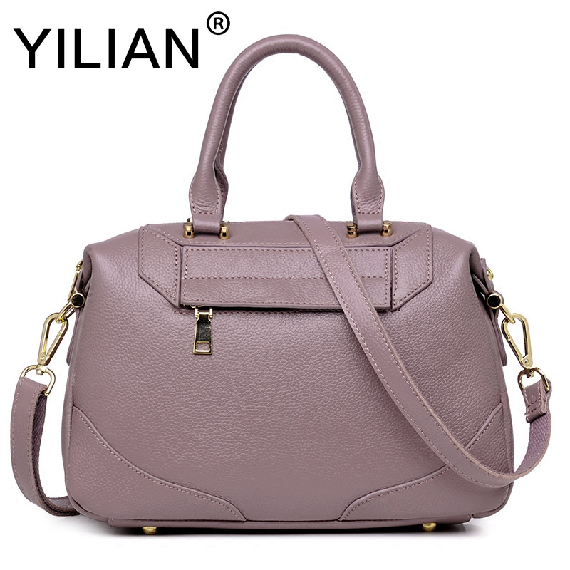 Здесь продается  women handbags fashion business shoulder bags ladies genuine leather high quality large capacity pink shoulder bag  Камера и Сумки