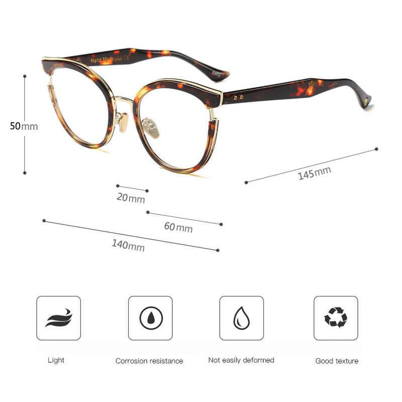 871b874f600f ... High Quality Fashion women glasses Trending myopia retro optical glasses  frame brand design Clear glasses oculos