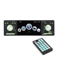 4.1 Car Radio Autoradio 12V Bluetooth 1 Din Car Stereo FM Aux Input Receiver In dash SD USB MP3 WMA APP Car Radio Player P5128