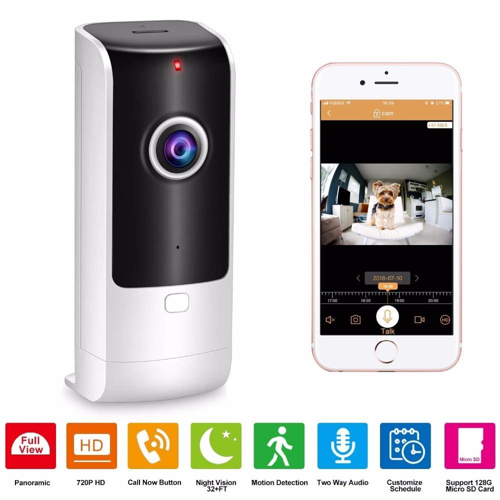 Roboter Unterhaltungselektronik Ausdauernd Home Security Kamera Drahtlose Pet Kamera Baby Monitor Wifi Mit Nachtsicht Zwei-weg Audio Motion Erkennung Indoor Ip Video Cam