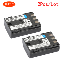 JHTC 2Pcs/lot 1000mAh NB-2L NB2L NB-2LH NB 2LH NB2LH Digital Camera Battery For Canon Rebel XT XTi 350D 400D G9 G7 S80 S70S30