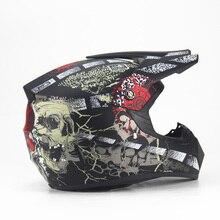 Motorcycle Adult Motocross Off Road Helmet  ATV Dirt Bike Racing Helmet