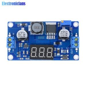 Image 5 - DC DC XL6009 Digital Boost Step Up Power Supply Module Adjustable 4.5 32V to 5 52V Step up Voltage Regulator With LED Voltmeter