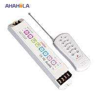 5 Years Warranty Mini Rf Wireless Led Remote Controller Dimmer Dc 12 24v 18A Multi Function